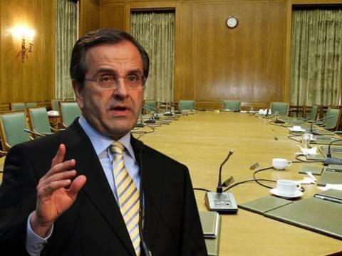 Σαμαράς προς υπουργούς: Η κυβέρνηση δεν κάνει διακοπές