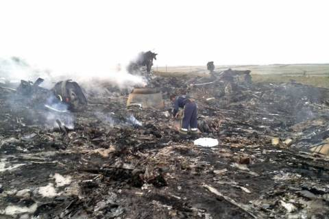 Ουκρανία: Μαχητικό κατερρίφθη κοντά στο σημείο συντριβής του Boeing