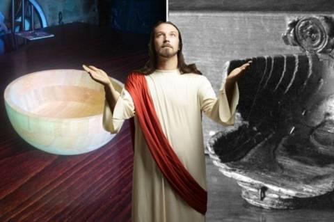 Βρετανία: Έψαχναν σε παμπ το Άγιο Δισκοπότηρο και βρήκαν μπολ… σαλάτας! (photos)