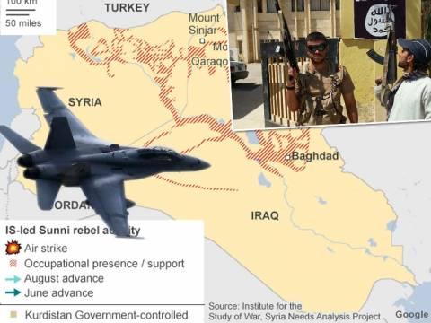 Ξεκίνησαν οι βομβαρδισμοί των ΗΠΑ στο Ιράκ