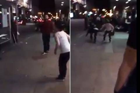 Γλασκώβη: Ρατσιστική επίθεση πρωτοφανούς βιαιότητας (video)