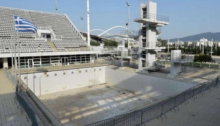 Здесь ветшает олимпийская история...