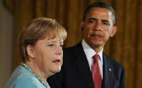 Επικοινωνία Ομπάμα - Μέρκελ για την Ουκρανία