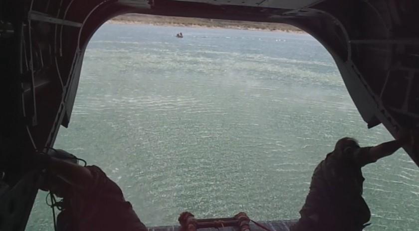 Λίμνη Υλίκη: Έβρεξε… καταδρομείς – Δείτε εντυπωσιακές εικόνες