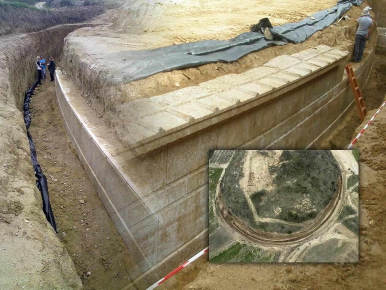Σπουδαία αρχαιολογική ανακάλυψη στην Αρχαία Αμφίπολη Σερρών