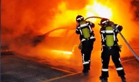 Κρήτη: Αυτοκίνητο IX τυλίχθηκε στις φλόγες