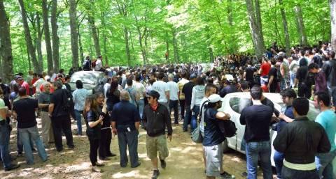 Χαλκιδική: Κατασκήνωση στο δάσος των Σκουριών κατά της εξόρυξης χρυσού