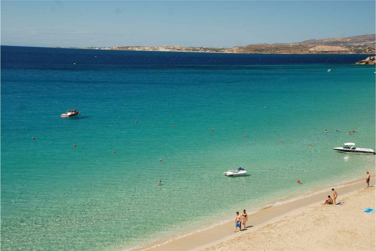 Avithos beach just 1.4kms from the apartments