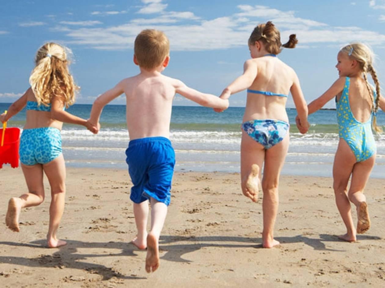 Ελλάδα: Ιδανικές παραλίες για παιδιά