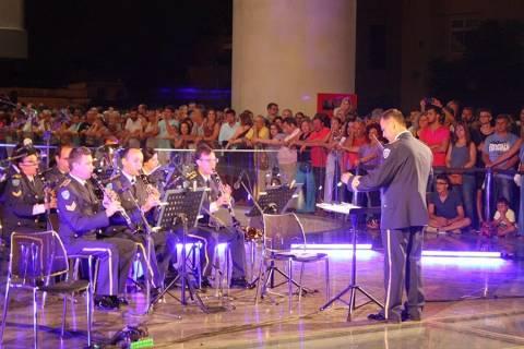 Συναυλία της Μπάντας της ΠΑ στο Μουσείο της Ακρόπολης
