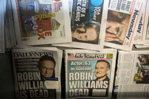 Ρόμπιν Γουίλιαμς: Σοκαριστική αποκάλυψη για την αυτοκτονία του