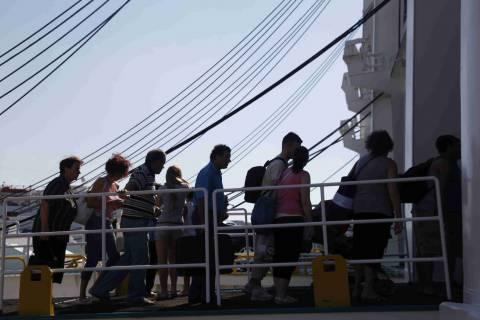 Αυξημένη η κίνηση στα λιμάνια εν όψει Δεκαπενταύγουστου