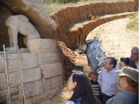 Amphipolis: Archaeologists are before great discovery