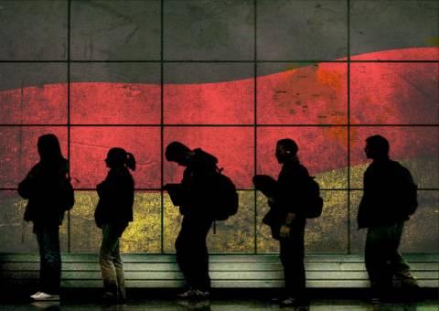 «Στο κόκκινο» η ανεργία των Ελλήνων και στη Γερμανία-43.513 ζουν με επιδόματα