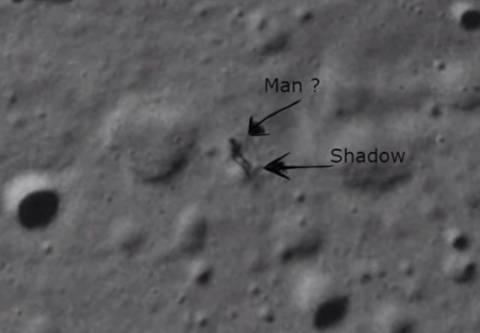 Χαμός στο διαδίκτυο: Η NASA κατέγραψε εξωγήινο στο φεγγάρι; (vid)