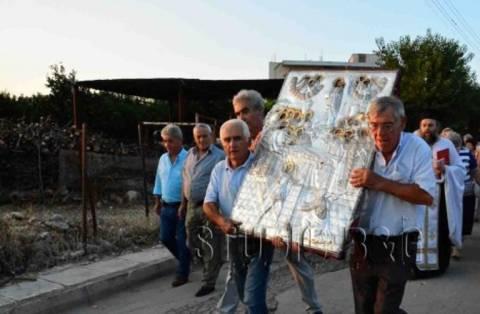 Ναύπλιο: Μεταφορά της θαυματουργής εικόνας της Παναγίας στην Αγ.Τριάδα