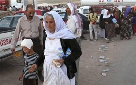 Καταφύγιο σε περίπου 2.000 Γεζίντι του Ιράκ προσέφερε η Άγκυρα