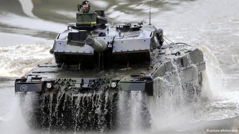 Γερμανικά διλήμματα για την εξαγωγή όπλων