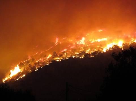 ΤΩΡΑ: Πυρκαγιά κοντά στο Λιανοκλάδι
