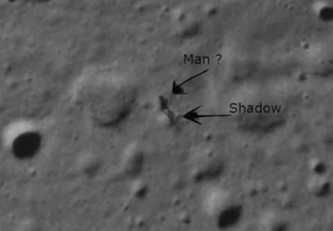 Λύθηκε το μυστήριο με τον εξωγήινο που περπατάει στη Σελήνη