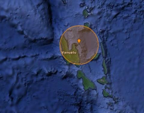 Σεισμός 5,3R στα νησιά Βανουάτου
