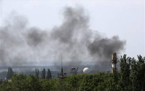 Ουκρανία: Aντάρτες κατέρριψαν μαχητικό αεροσκάφος στο Λουγκάνσκ
