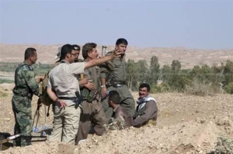 Ισχυρά όπλα στους Κούρδους μαχητές του Ιράκ ζητεί ο πρόεδρός τους