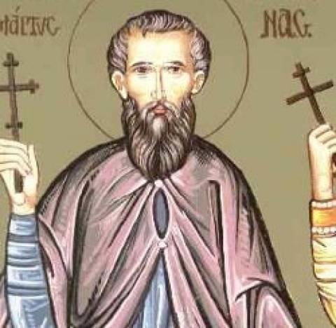 Ο Άγιος Μύρων εορτάζει στις 17 Αυγούστου