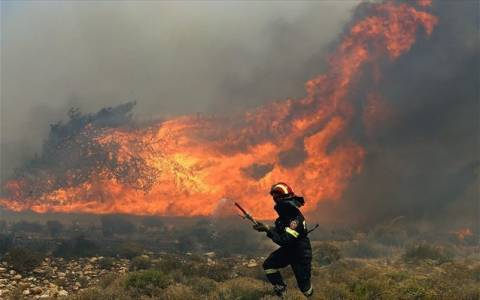 Κόκκινος συναγερμός σε όλη τη χώρα – Υψηλός κίνδυνος πυρκαγιάς τη Δευτέρα