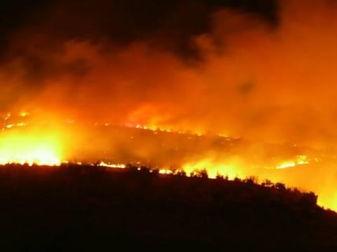 Συναγερμός στη πυροσβεστική: Ολονύχτια μάχη σε Αρεόπολη και Γύθειο