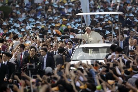 Δέηση για συμφιλίωση στη χερσόνησο της Κορέας από τον πάπα Φραγκίσκο