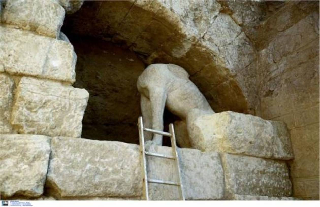 Excavations in Ancient Amphipolis resumed on Monday