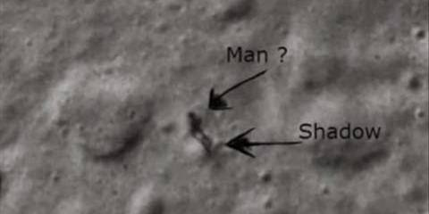 Απάντηση της NASA: Τι ήταν τελικά η φιγούρα του εξωγήινου στο φεγγάρι