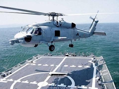 Εύβοια: Πολεμικό ελικόπτερο βρήκε εξαφανισμένο κολυμβητή