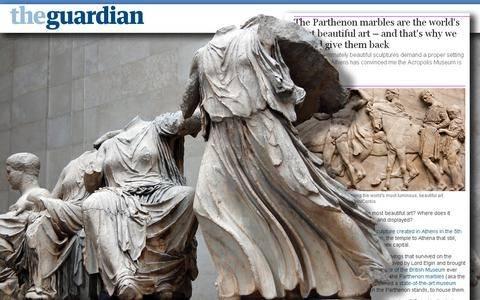 Guardian: Να επιστραφούν στην Ελλάδα τα γλυπτά του Παρθενώνα!