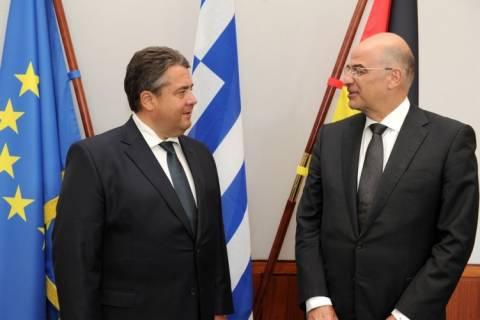 Ζ. Γκάμπριελ: Συνεχίζεται η γερμανική στήριξη στις ελληνικές μεταρρυθμίσεις