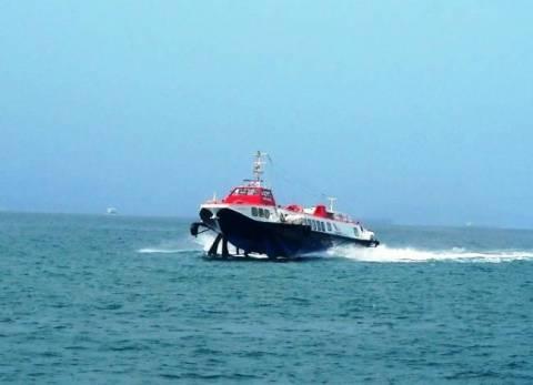 Μηχανική βλάβη για «ιπτάμενο δελφίνι» στον Πειραιά