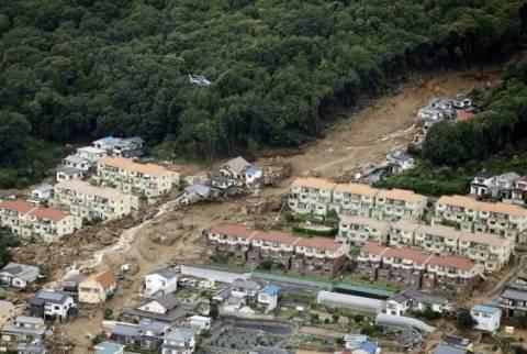 Ιαπωνία: Αυξήθηκε ο αριθμός των θυμάτων από τις κατολισθήσεις στη Χιροσίμα