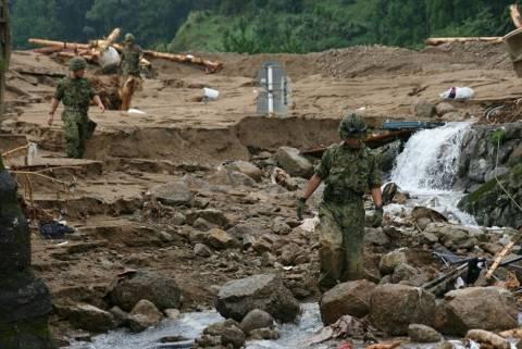 Ιαπωνία: 27 οι νεκροί από τις κατολισθήσεις