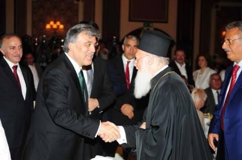Τουρκία: Παρουσία Βαρθολομαίου το «αντίο» του Γκιουλ