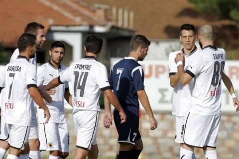 Σε χαλαρούς ρυθμούς η ΑΕΚ, 4-0 τον Ρήγα Φεραίο