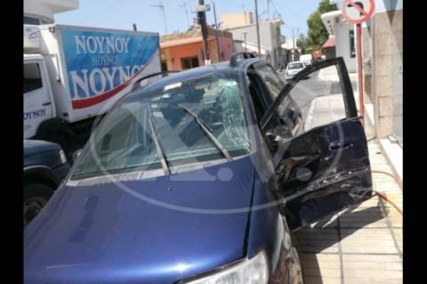 Χανιά: Τροχαίο με πέντε τραυματίες στη Σούδα