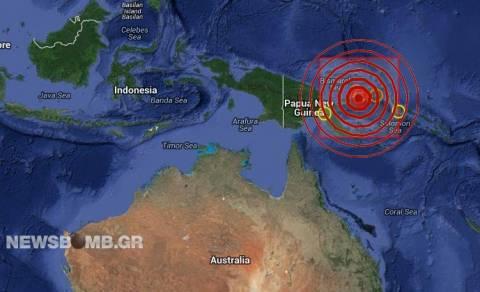 Σεισμός 5,8 Ρίχτερ στην Παπούα – Νέα Γουινέα