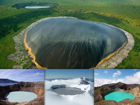 A tour to the most beautiful volcanic lakes on Earth (pics)