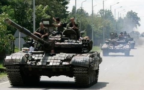 Ουκρανία: «Καταλάβαμε ρωσικά τεθωρακισμένα»