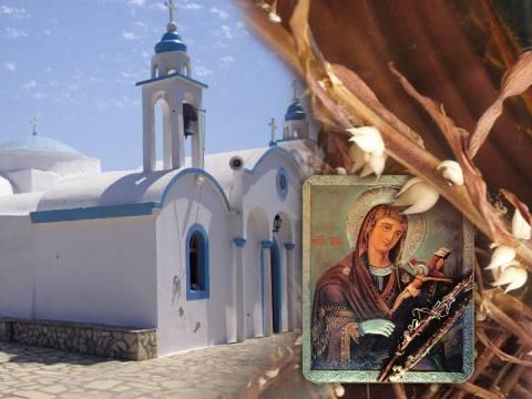 Λειψοί: Πόλος έλξης η μοναδική εικόνα της «Παναγίας του Χάρου»