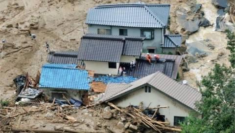Χιροσίμα: 52 νεκροί από τις κατολισθήσεις - Διακόπηκαν οι έρευνες
