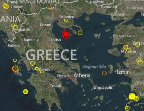 Σεισμός: Στο ρυθμό των Ρίχτερ η Χαλκιδική-Συνεχίζονται οι δονήσεις