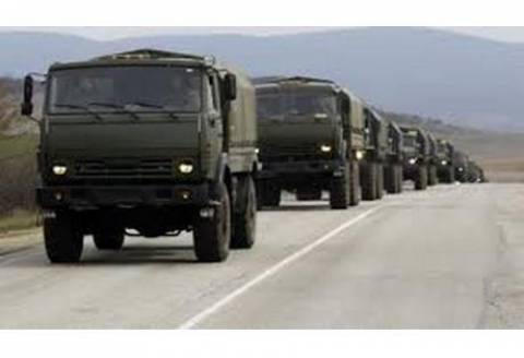 Ρωσία: Μέρος της αυτοκινητοπομπής πέρασε τα σύνορα
