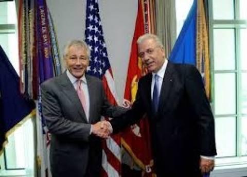 Ευγνωμοσύνη Χέιγκελ προς Αβραμόπουλο για τη στρατηγική συνεργασία Ελλάδας - ΗΠΑ